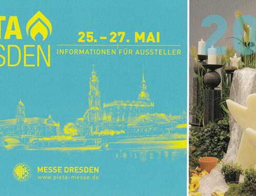 25.05. – 27.05.2017: Fachmesse PIETA in Dresden