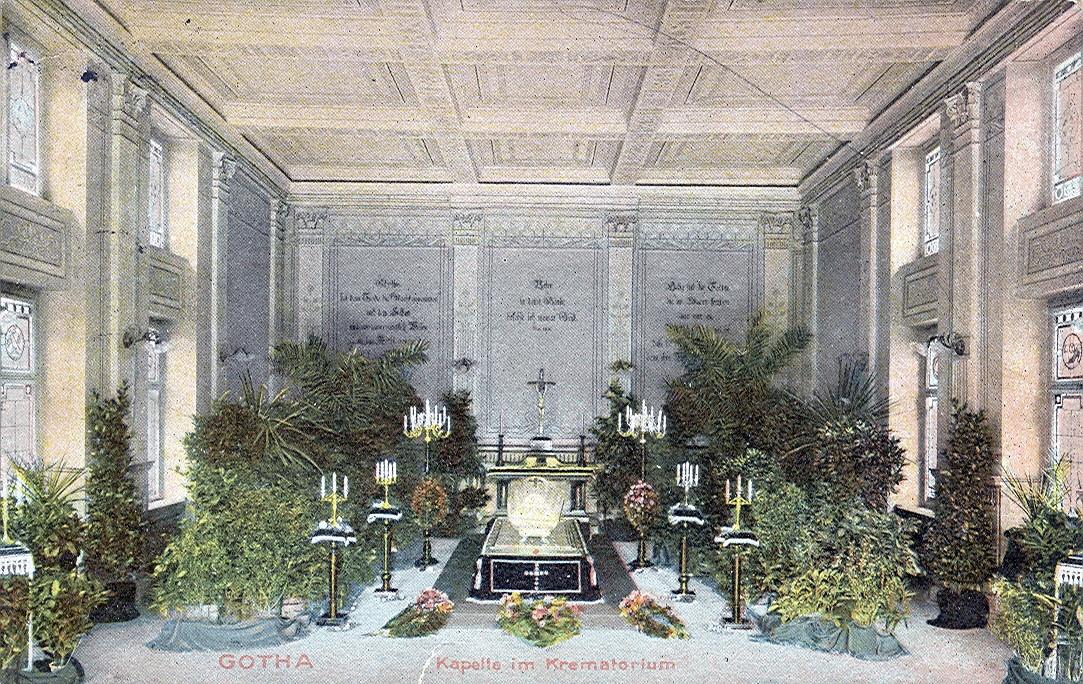 Krematorium in Gotha, Feierhalle von 1913