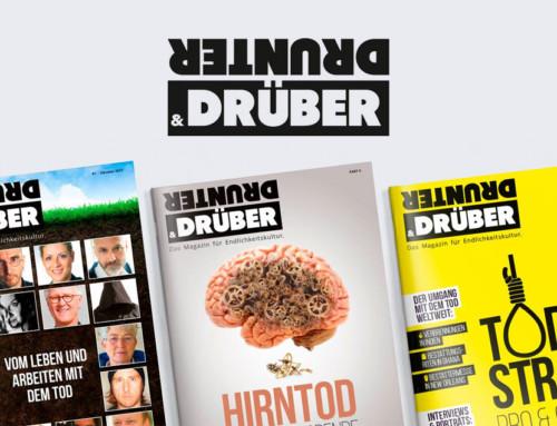 drunter&drüber – Das Magazin für Endlichkeitskultur