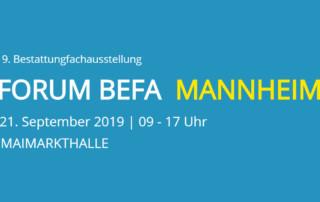 FORUM BEFA MANNHEIM 2019
